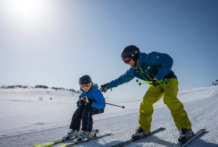 Skiskole på Slaatta