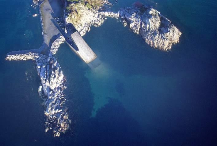 Under Underwater restaurant in Lindesnes Southern Norway