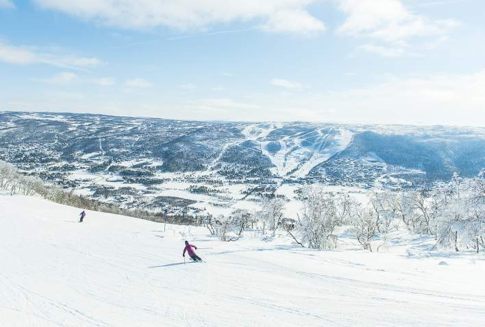 Skiing in Geilo, SkiGeilo
