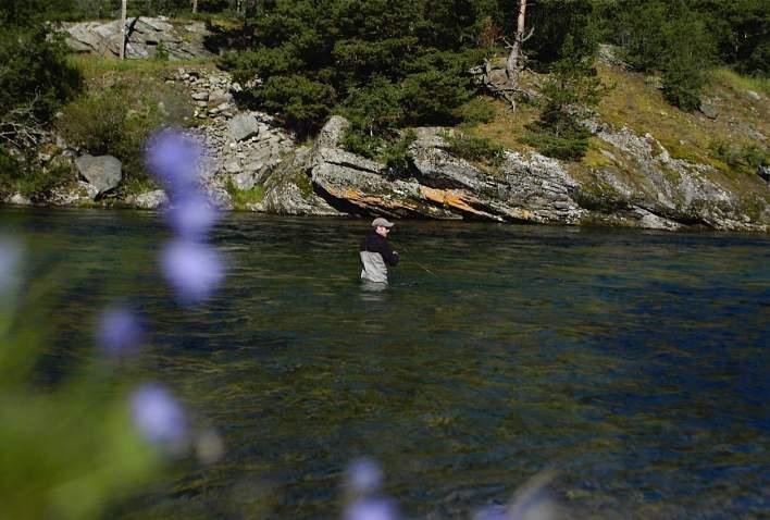 Fiske i Driva i Oppdal