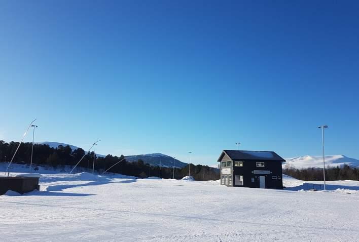 Værstasjon Oppdal skistadion