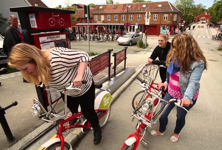Opplev Trondheim på sykkel