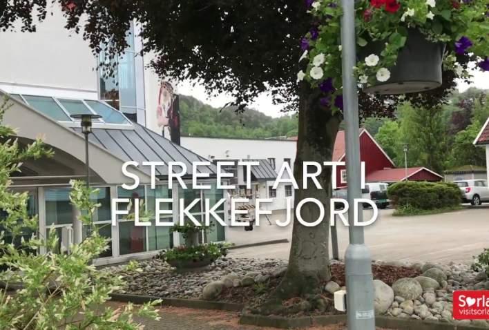 Street art Flekkefjord 2017