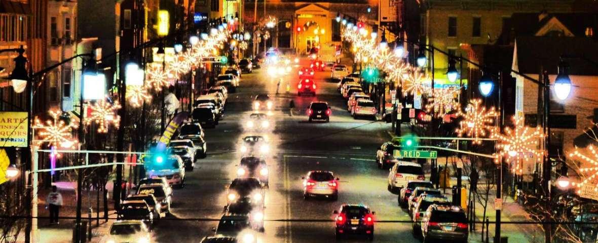 Holiday Street lights