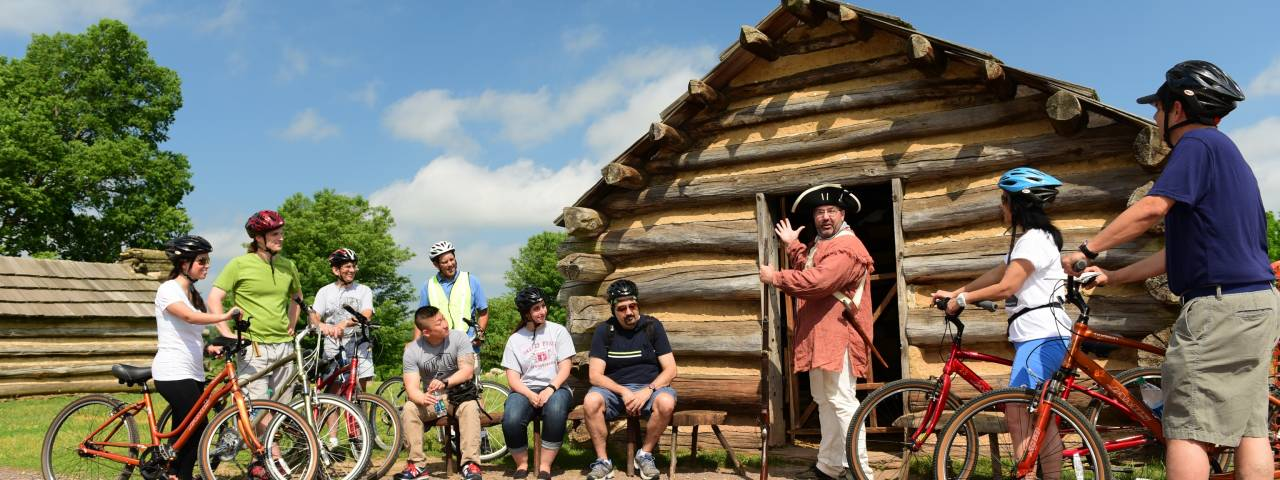 Valley Forge Park Summer Programming Header