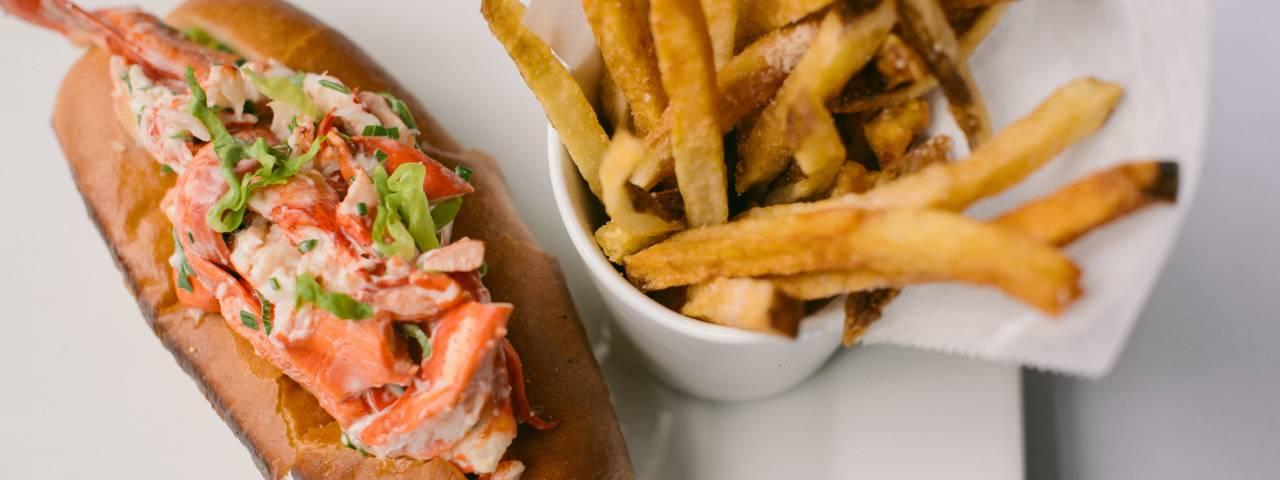 Davio's Lobster Roll