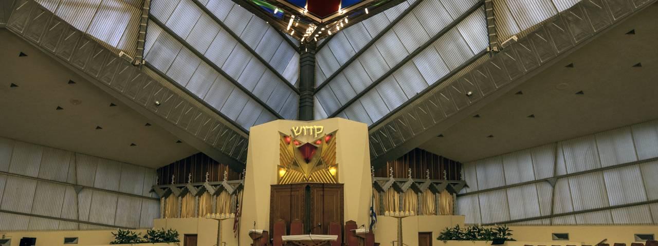 Beth Sholom Synagogue Interior