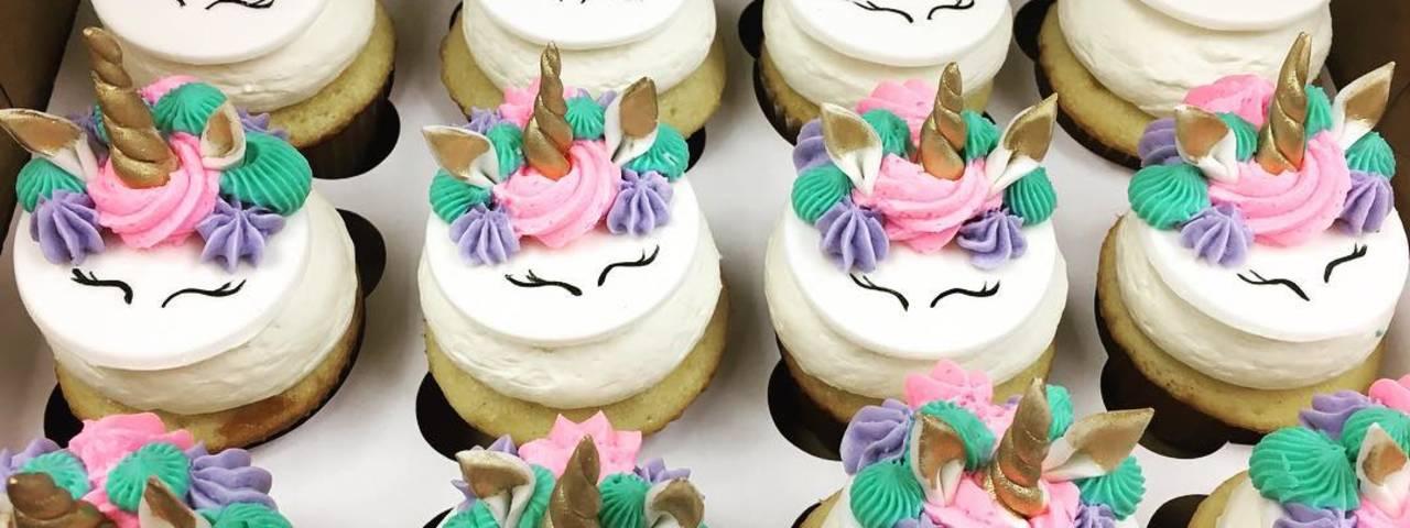 Beverly's Pastry Unicorn Cupcakes