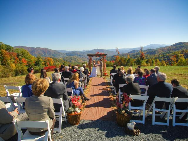 Mountaintop Wedding