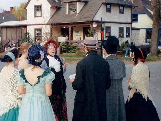 Dickens in Village