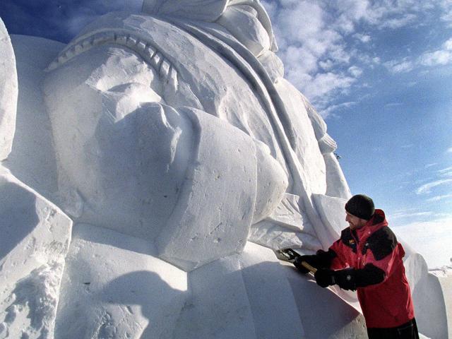 Viking Sculpture, Festival du Voyageur