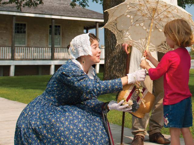 Going Back in Time, Lower Fort Garry