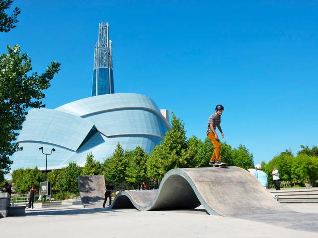 Skateboard Park, The Forks