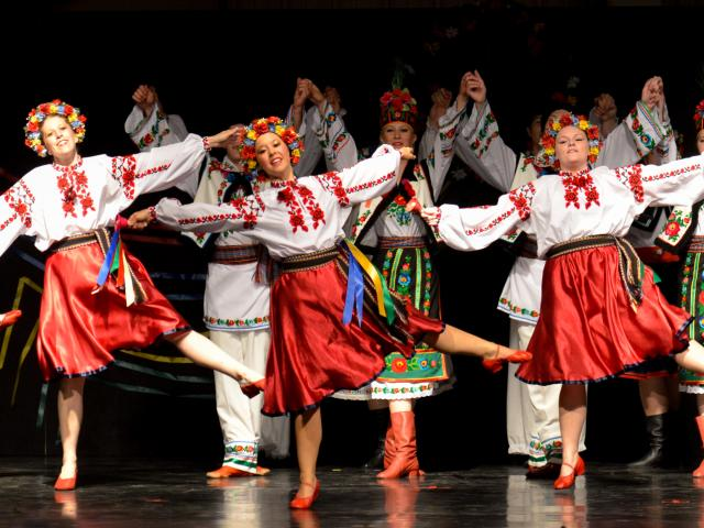 The Spirit of Ukraine Pavilion at Winnipeg's Folklorama
