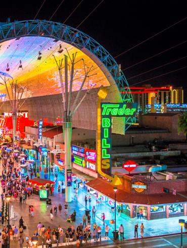 Fremont Street Experience Wide