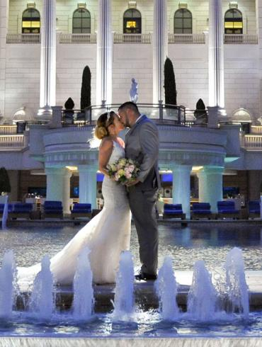 Caesar's Palace Wedding