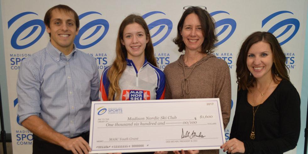 MASC Youth Grant 2017 Winner: Madison Nordic Ski Club