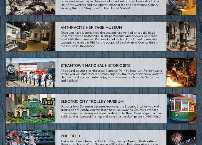 Must See Attractions in Lackawanna County, PA
