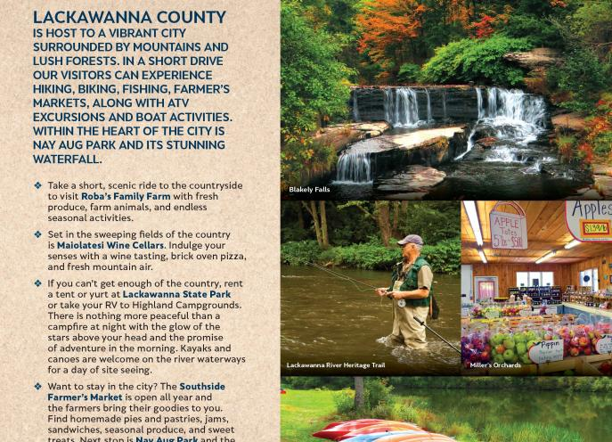 Nature Lover Itinerary of things to do in Lackawanna County, PA.
