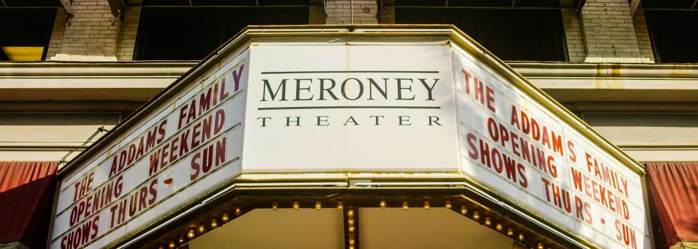 Meroney Theater Marquee