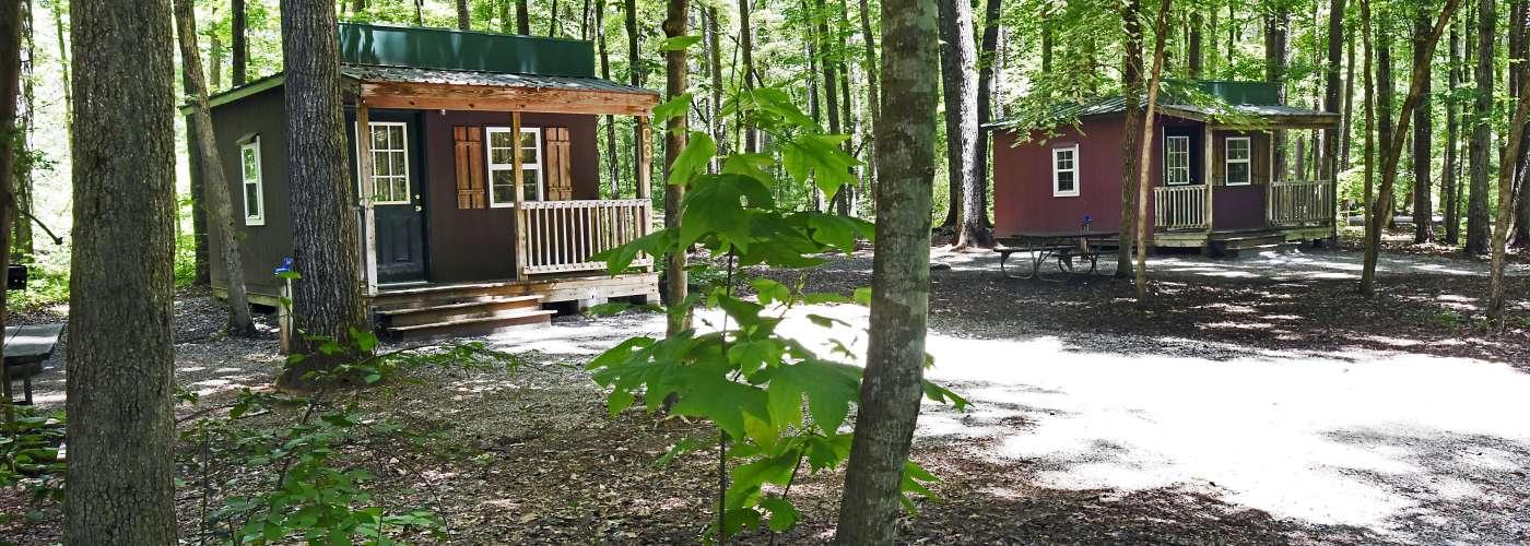 Cabins at Dan Nicholas Park