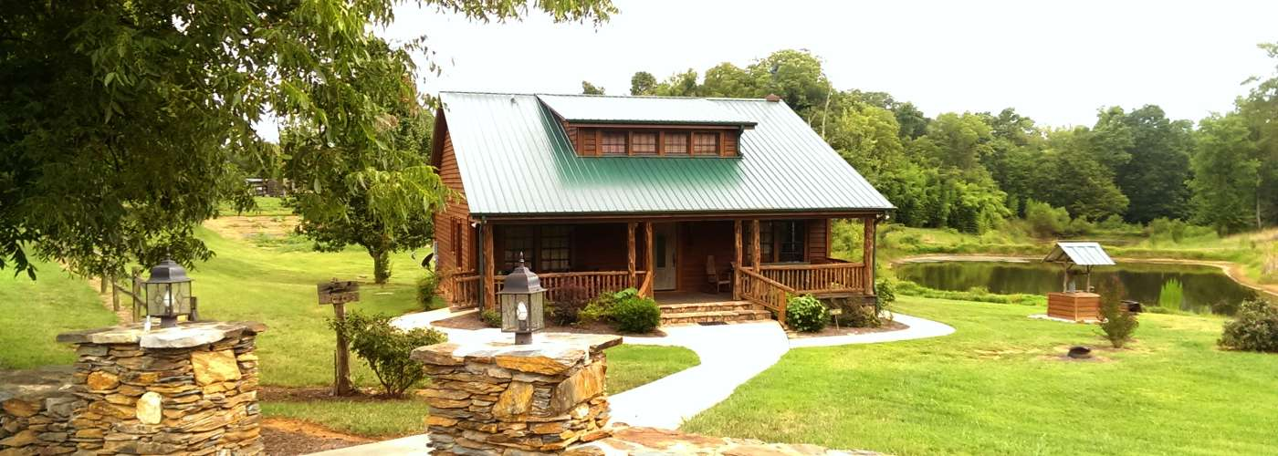 Restored wood Lodge Home in Gold Hill with Stone Wall