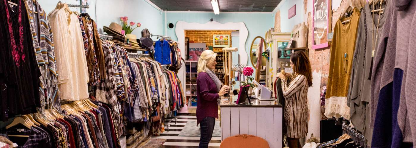Shopping at Anna Craig Boutique