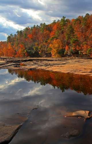 Little River Canyon in Fall