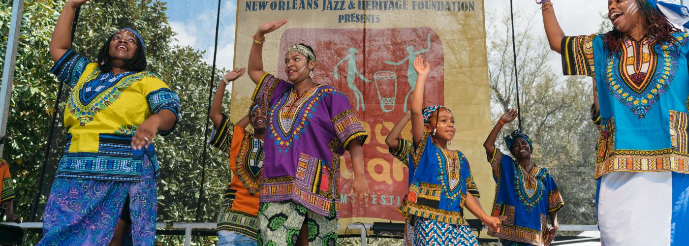 N'Fungola Sibo Dance Theater - Congo Square New World Rhythms Fest 2017