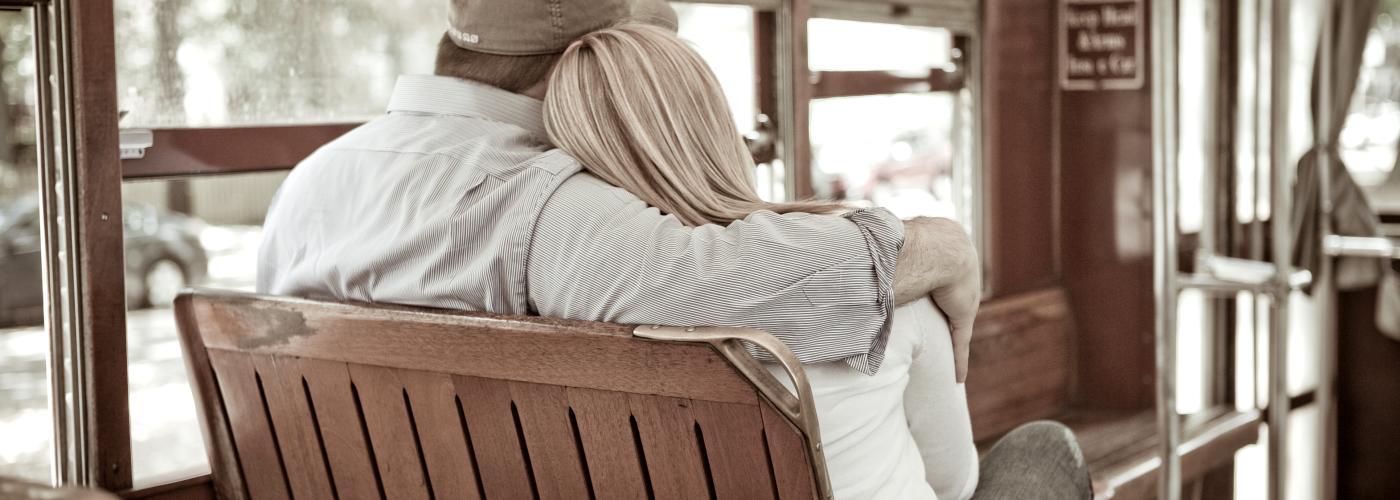 Couple on Streetcar
