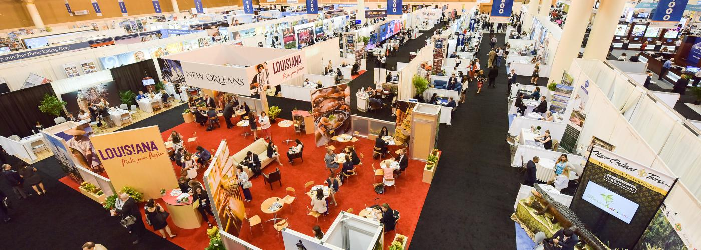 Show Floor at Convention Center