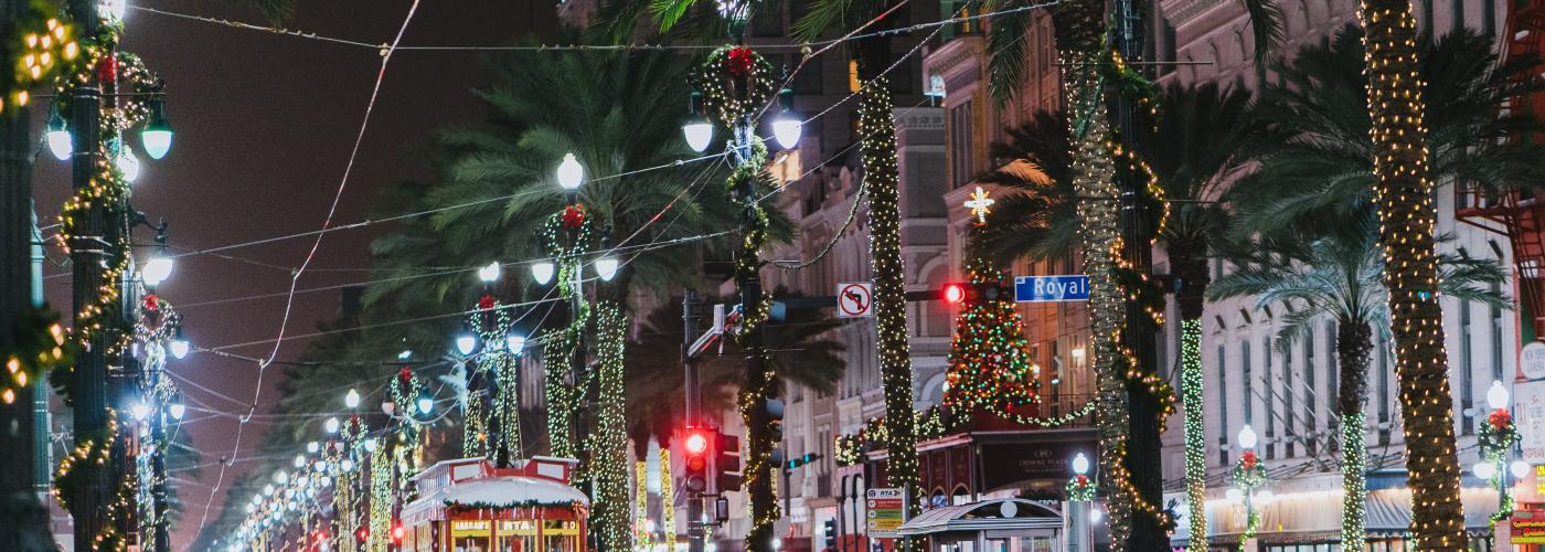 Canal Street Christmas - Canal Streetcar - 2016