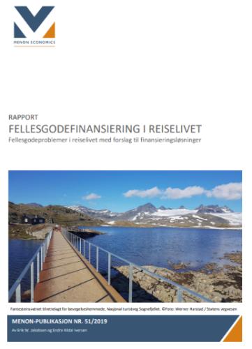 Rapport: Fellesgodefinansiering i reiselivet