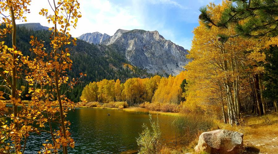 Little Walker Lake 10/10/16 Fall Colors
