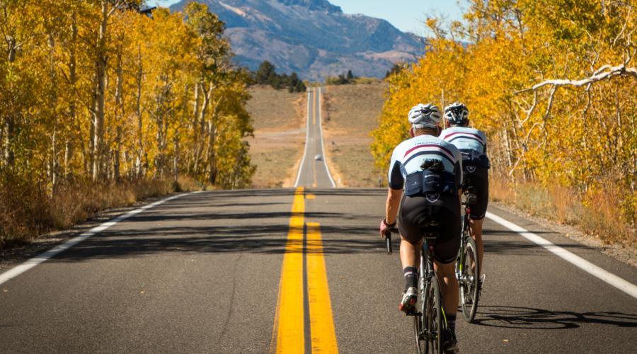 Monitor Pass Bike Riders