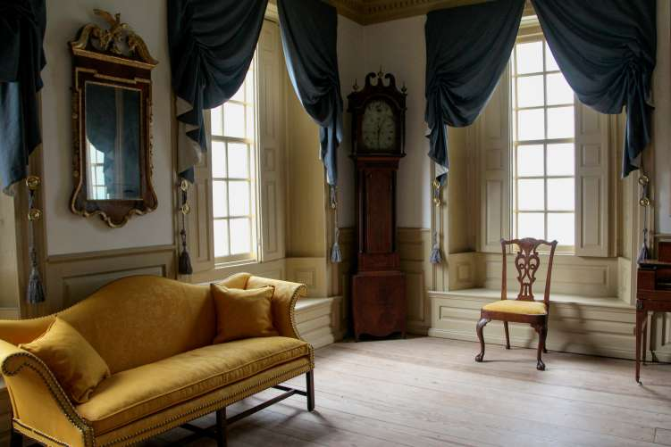 Historic room interior