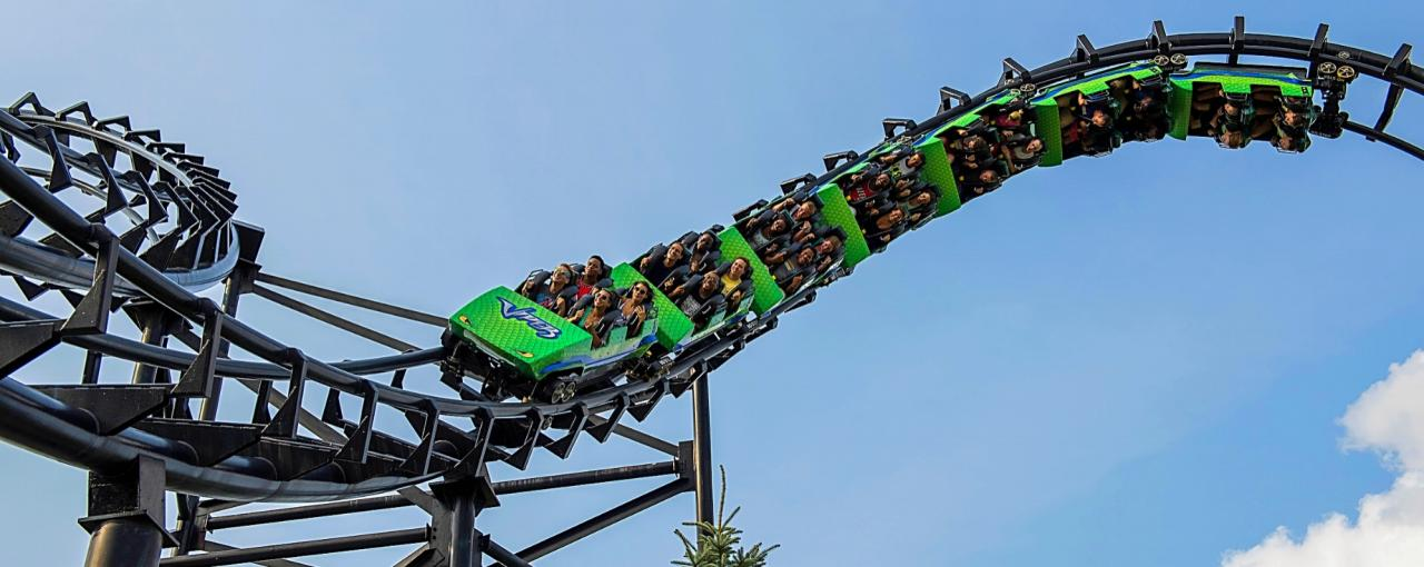 Darien Lake Amusement Park - Photo by NYS ESD