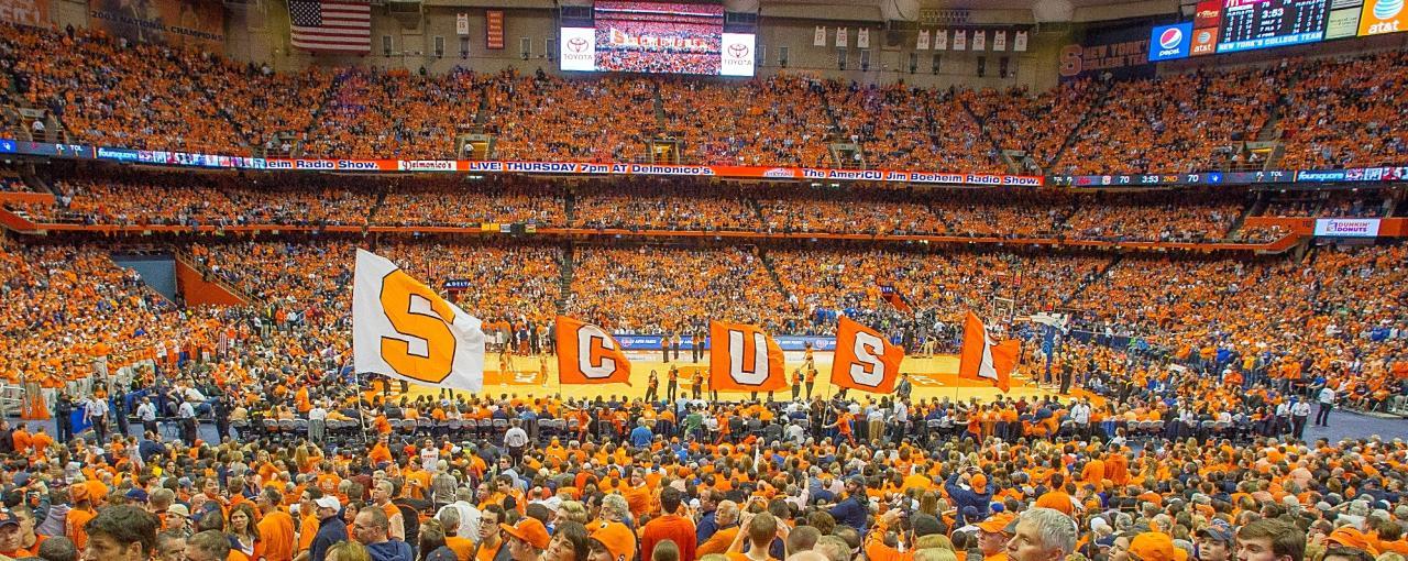 Syracuse Dome Crowd