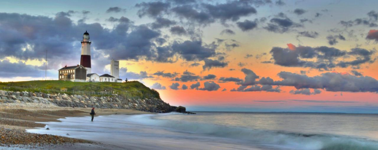 montauk lighthouse winter - Photo by Long Island Convention & Visitors Bureau and Sports Commission