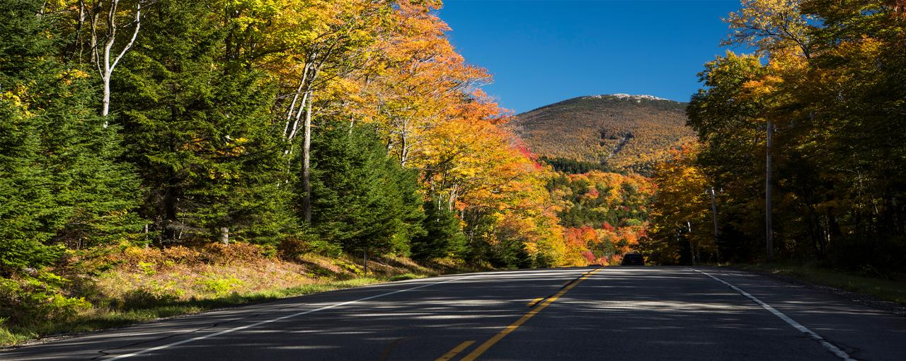View of Cascade Mountain from Route 73, Adirondacks