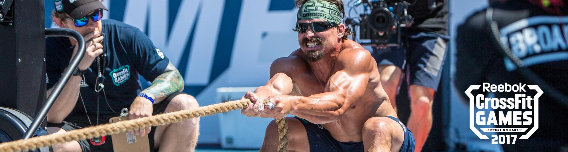 CrossFit 2017: Rope Pull