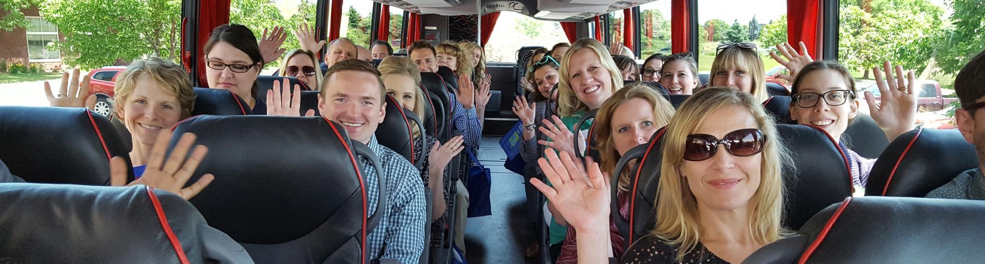 Partner Bus Ride