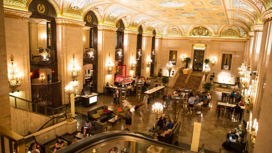 Take A Tour Through The Landmark Palmer House Hilton With Award Winning Historian Ken Price Full Of Stories From Chicago History