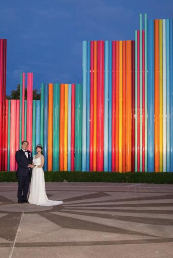 10 Amazing Las Vegas Wedding Photo Backdrops