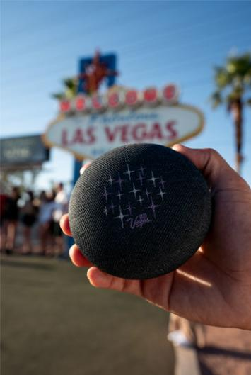 Google Home Mini w/ Las Vegas Branding