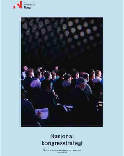 Nasjonal kongresstrategi forside