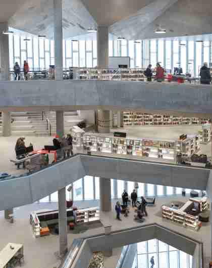Oslo main library Deichman Bjørvika, Eastern Norway