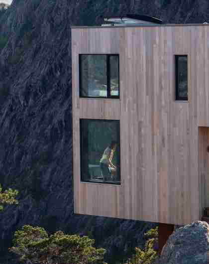Exterior image of The Bolder Sky Lodges in Rogaland, Fjord Norway