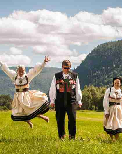 Folklore in Setesdal