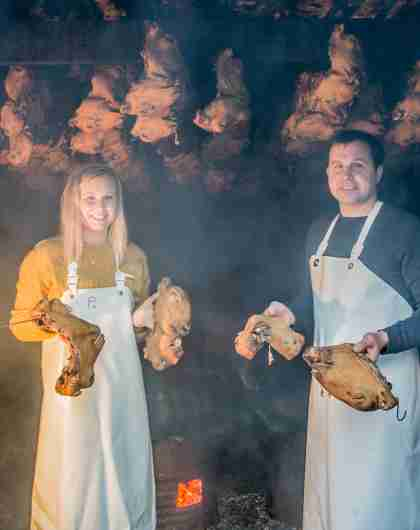 Taste Norway's weird and wonderful cuisine at Smalahovetunet in Voss